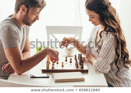 Pareja · jugando · nietos · mujer · ninos - foto stock © photography33