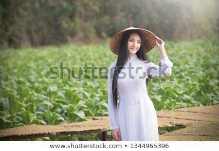 mooie · asian · vrouw · lingerie · sexy - stockfoto © carlodapino
