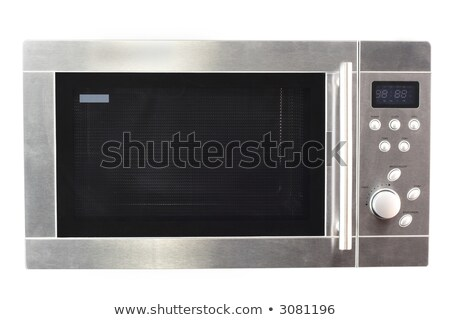 hightech microwave oven isolated Stock photo © shutswis