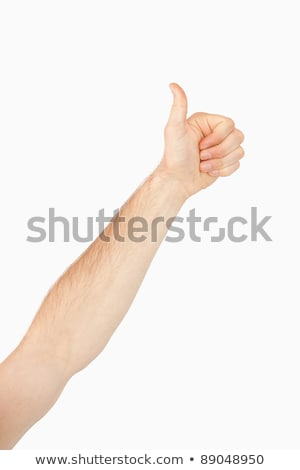 hand · succes · winnend - stockfoto © wavebreak_media