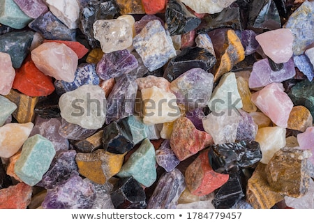 mineral collection as frame Stock photo © jonnysek
