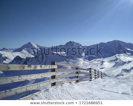 Stock photo: over 3000 meters peak