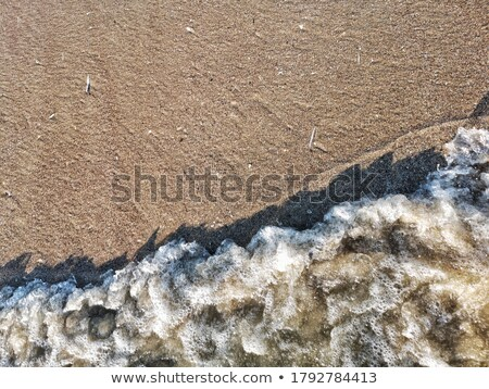 Sea water with a foamy wave, high angle Stock photo © jrstock