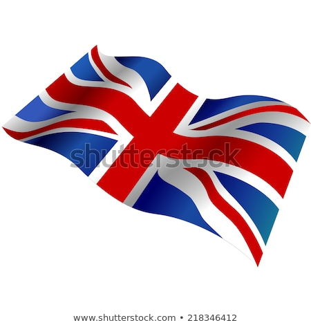 flag fluttering in the wind stock photo © m_pavlov