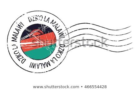 пост штампа Малави напечатанный изображение искусства Сток-фото © Taigi