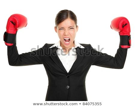 vencedor · negócio · batalha · determinado · homem · conselho - foto stock © elwynn