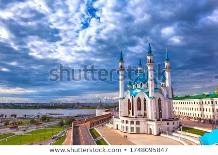kul sharif mosque in kazan russia stock photo © mikko