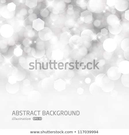 Natale · frame · cervo · nero · bianco - foto d'archivio © alexmakarova