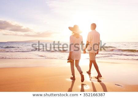 starszy · człowiek · kobieta · spaceru · strony · starszy · para - zdjęcia stock © Kzenon