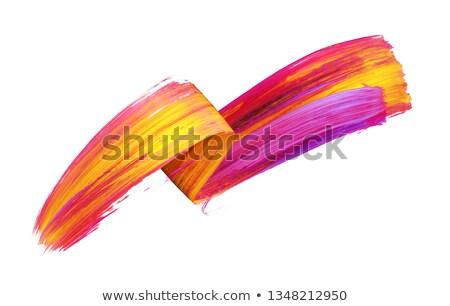 Akrilik sanat kullanılmış elemanları kâğıt doku Stok fotoğraf © Taigi