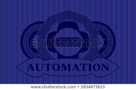 Briljant veiligheid knoppen vector computer abstract Stockfoto © burakowski
