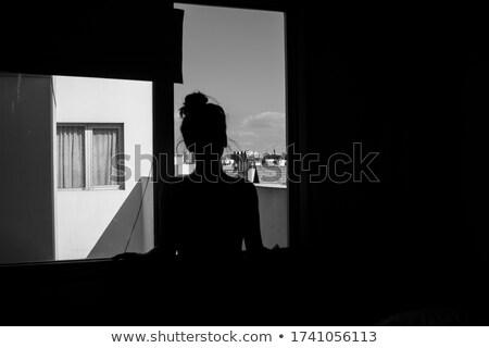 girl stare Stock photo © nicemonkey