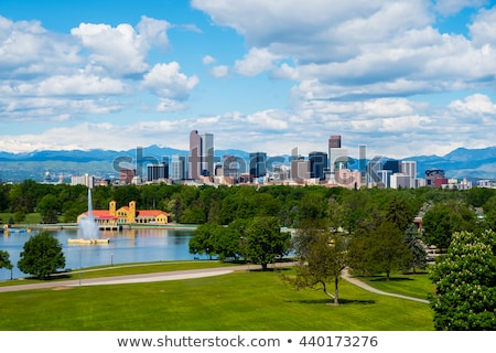 Denver Skyline from City Park stock photo © ambientideas