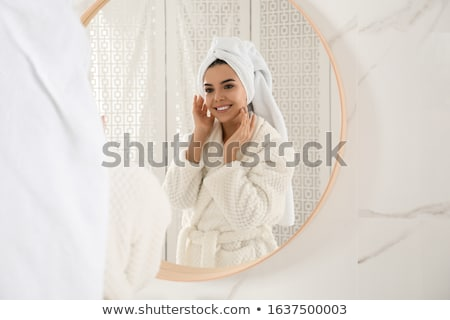 Women Wrapped In Color Towels Stock photo © Kakigori