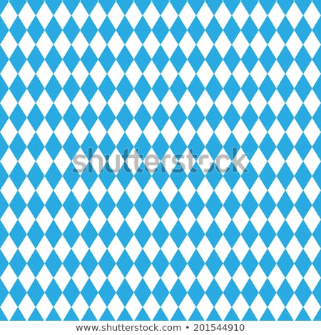 Oktoberfest  background. Bavarian flag pattern.  Stock photo © gladiolus
