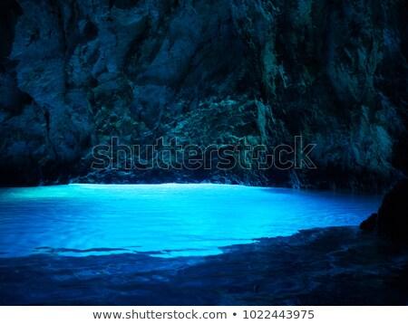 blue caves stock photo © fesus