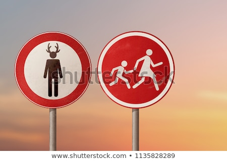 Infidelity on Red Road Sign. Stock photo © tashatuvango