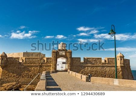 Château Espagne forteresse une la Photo stock © Photooiasson
