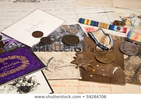 Militar folleto otro guerra retro Foto stock © nelsonart