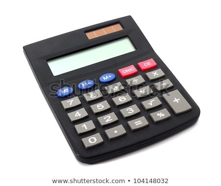 Nap számológép egyszerű illusztráció vektor formátum Stock fotó © orensila