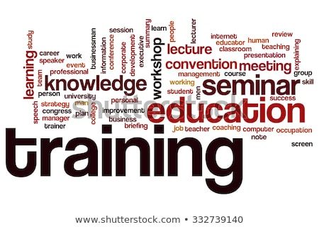 セミナー 言葉の雲 学生 雲 訓練 成功 ストックフォト © tang90246