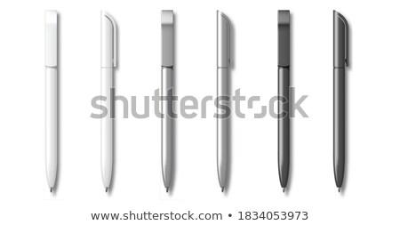 Stock photo: Gray pen