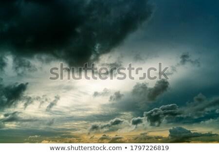 мрачный можете используемый облака природы свет Сток-фото © Valeriy