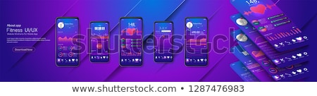 Health Kit Violet Vector Icon Design Stock photo © rizwanali3d
