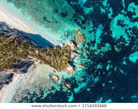 島 海 岩 ビーチ 空 太陽 ストックフォト © master1305