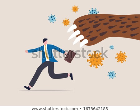 Bear Market Run Stock photo © Lightsource