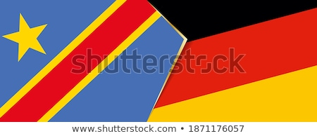 Germany and Congo Flags Stock photo © Istanbul2009