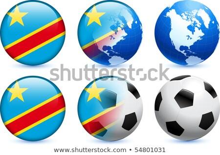 Kanada demokratyczny republika Congo flagi puzzle Zdjęcia stock © Istanbul2009