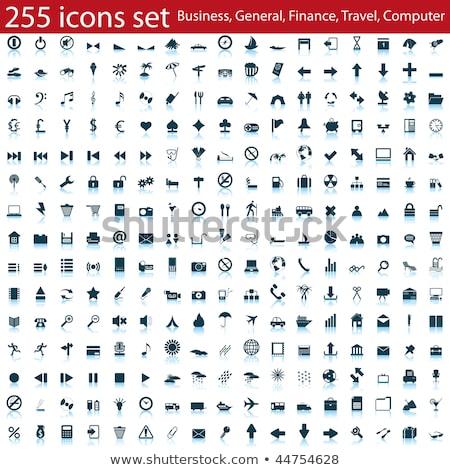 zoom · piros · vektor · ikon · terv · digitális - stock fotó © rizwanali3d