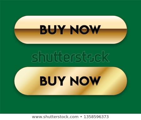 Add To Cart Yellow Vector Icon Design Stock photo © rizwanali3d