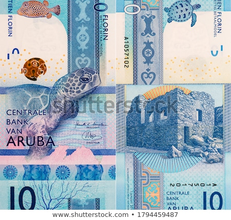 International currencies bank note in the wallet Stock photo © nalinratphi