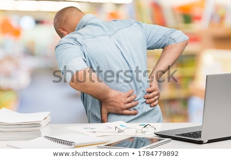 Chronic Back Pain Stock photo © Lightsource