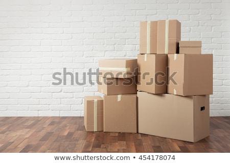 kutuları · ayarlamak · farklı · pozisyonları · eps - stok fotoğraf © elgusser