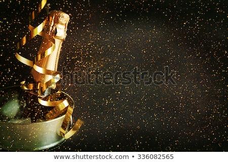 с · Новым · годом · празднования · аннотация · фейерверк - Сток-фото © netkov1