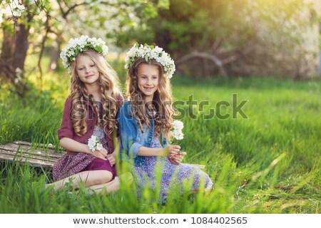 Dos adorable fragante flor forestales Foto stock © majdansky