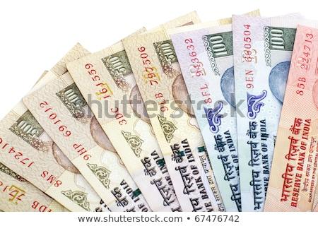 részlet · indiai · pénz · pénzügy · Ázsia · pénzügyi - stock fotó © capturelight