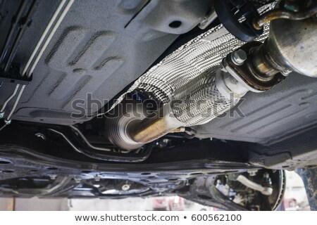 járművek · kipufogó · sekély · autó · haj · gép - stock fotó © Phantom1311