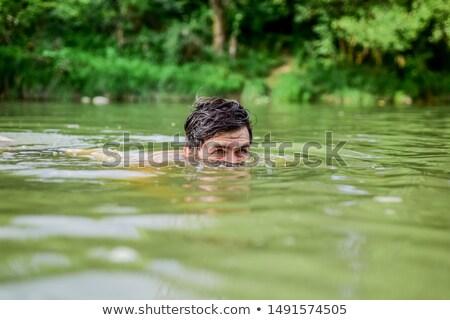 Sauvage rivière vue peu magnifique Photo stock © wildnerdpix