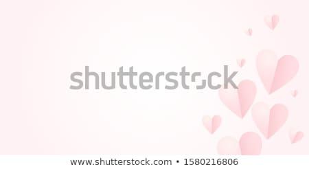 バレンタイン 日 中心 背景 美 ストックフォト © rioillustrator