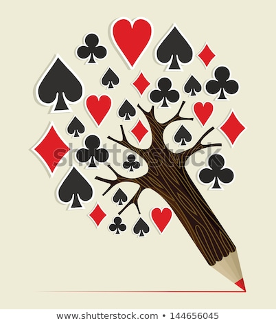 poker · école · dessin · craie · classe - photo stock © romvo
