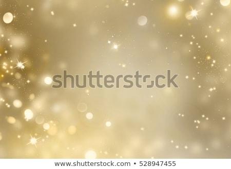 Christmas Background with Golden Stars Stock photo © dariazu