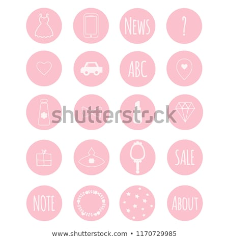 Phone icon with highlight stock photo © Oakozhan