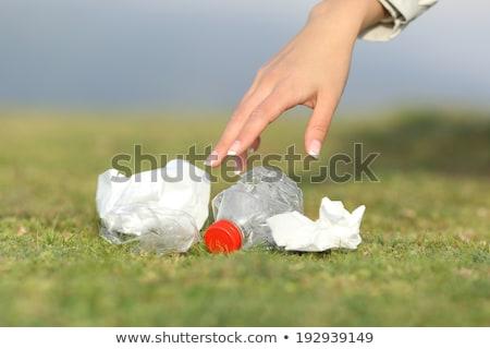 Ecologically responsible garbage collecting Stock photo © adrenalina
