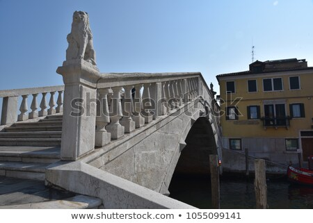 venetian castle in chioggia venice italy stock photo © xantana