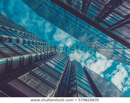 construction of big buildings Stock photo © ssuaphoto