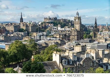 Edinburgh Rooftops Stock photo © searagen